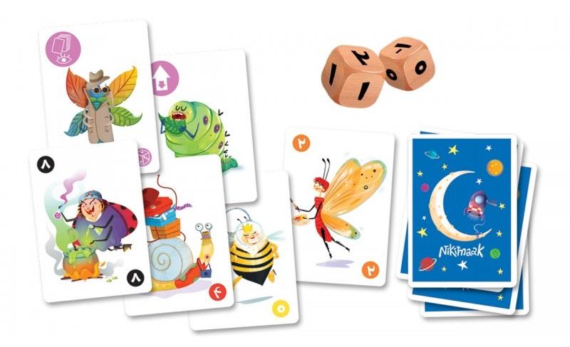 بازی کارتی نیکیماک - جزیرهی بازی
