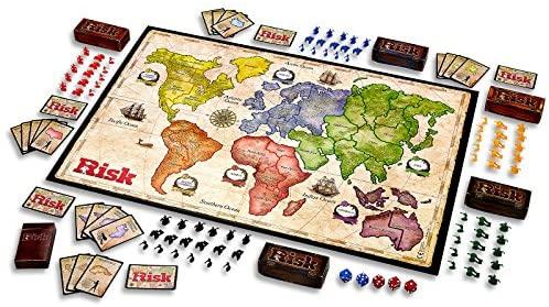 آماده برای ریسک کردن و فتح دنیا - بردگیم جنگی