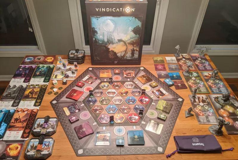 vindication boardgame جزیره ی بازی